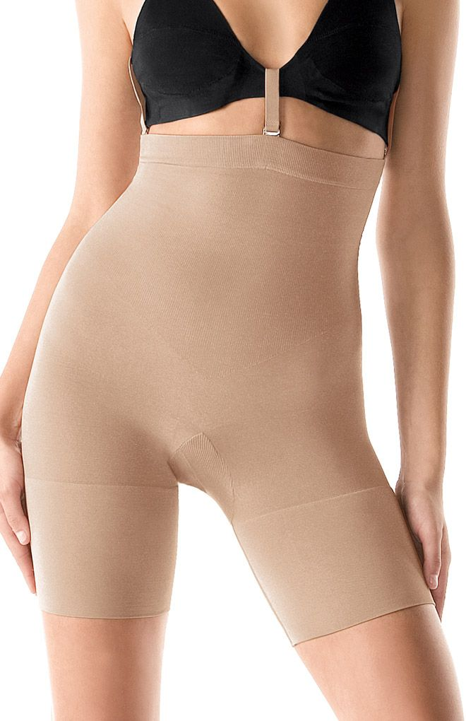 Spanx Slim Cognito Shaping Mid Thigh Bodysuit 067 Shapewear