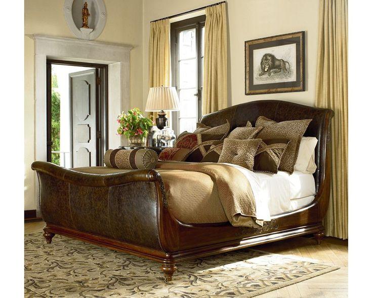 Ernest Hemingway® Aberdare Sleigh Bed