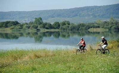 #Cyclotourisme au #Lac de #Madine Crédit photo : CDT-Meuse/Guillaume RAMON
