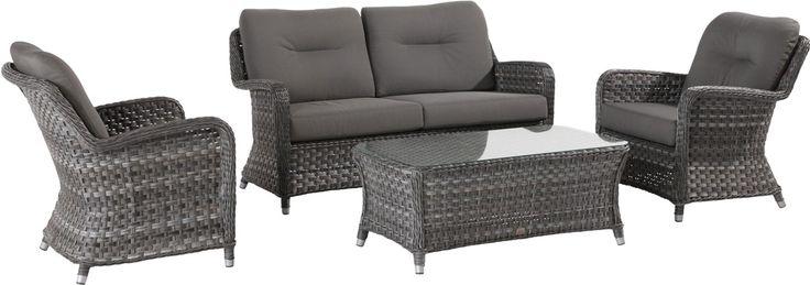 Комплект Eldorado living 4 Seasons Outdoor (Голландия) | Мебель для улицы- диван и кресла, мебель для сада