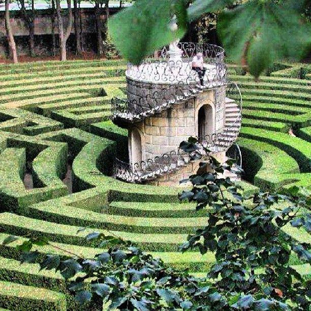 Labirinto di Villa Pisani - @cristinallegri- Venice , ,province of Venezia ,  Veneto Italy