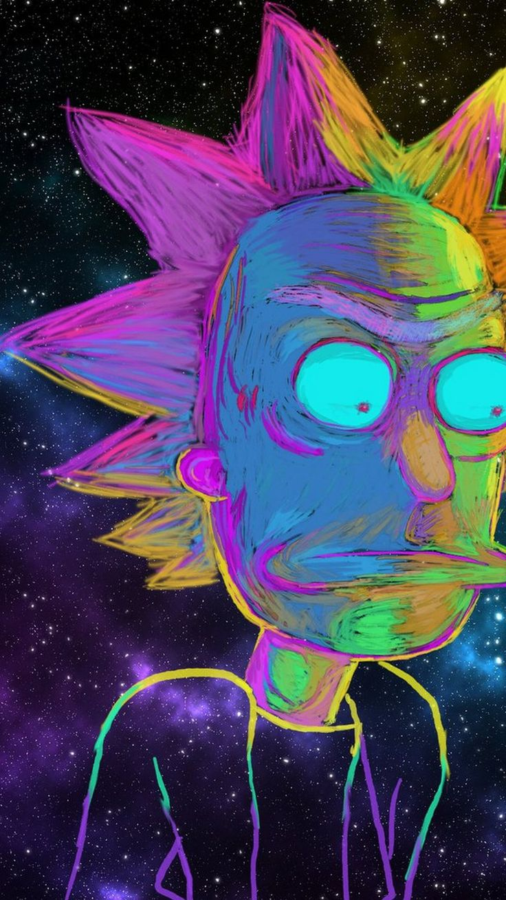 HD Wallpaper Rick And Morty Cartoon iPhone is high