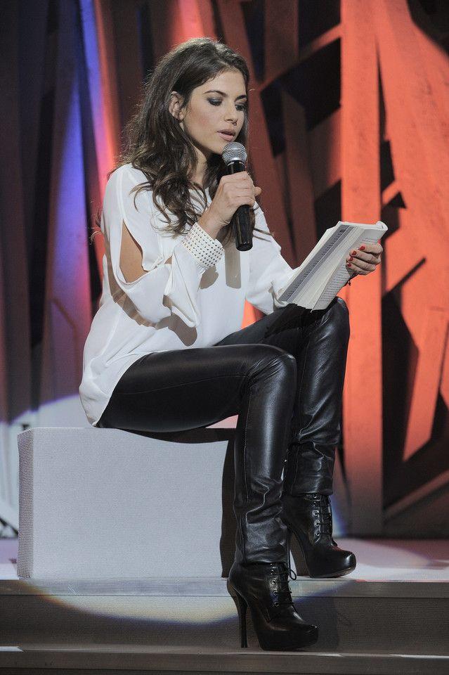 Weronika Rosati Women Leather Women Fashion