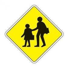 Resultado de imagem para placas de transito para imprimir area escolar