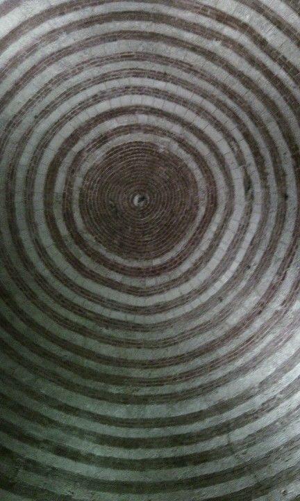 Rotonda di San Galgano - particolare della volta