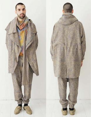 Pierre Becker by Johanna Ruebel for Anntian Fall/Winter 2012