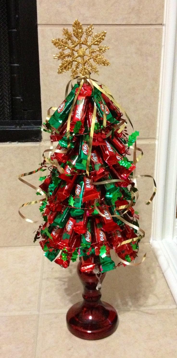 Kit Kat Christmas tree! | Holiday food | Pinterest | Trees ...