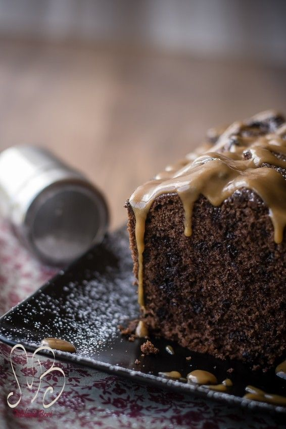 - Cake tout Chocolat et Caramel au Beurre Salé -
