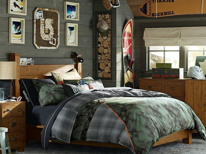 I love the PBteen Emerson Burton Board Bedroom on pbteen.com