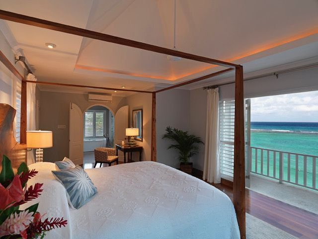 All marriages need a little love and care and what better way to give it some than with a romantic getaway. Here are 7 secrets to make it unforgettable, 1 being the room, like this beautiful suite at Jamaica Inn in Ocho Rios, Jamaica.