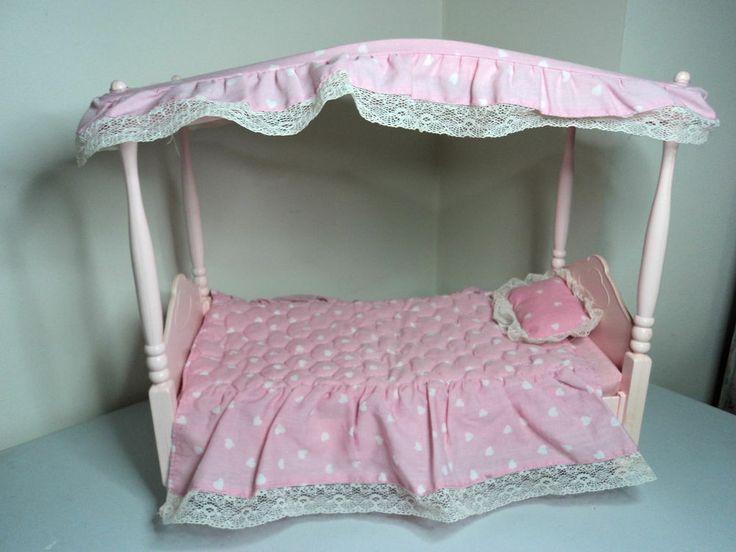 Mattel Vintage Barbie Doll House Furniture For Bedroom
