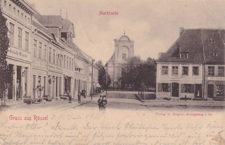 Gruss aus Rößel - Marktseite.