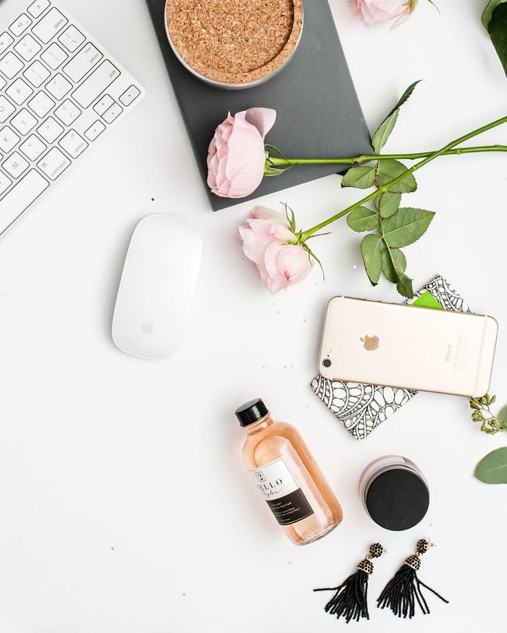 Our clients are often surprised how much work goes into their Branding + Web Design projects, before we even officially begin. ⠀ We provide a custom web portal that tracks all their homework with fancy digital forms, outline the payment schedule and provide the project outline months before we begin. Pretty office flat lay. Flatlay photography
