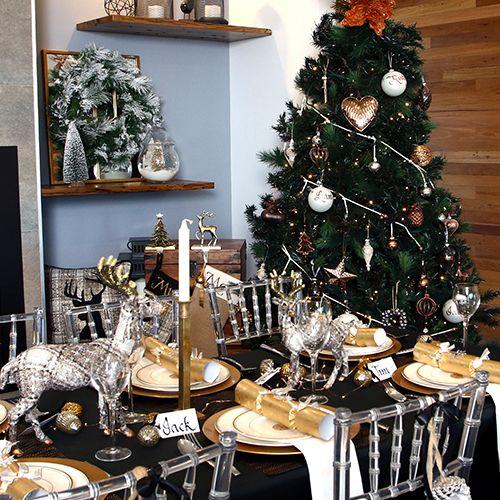 Mixed Metals Christmas Theme | The Christmas Cart
