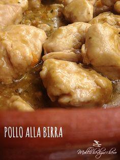 #Pollo alla #birra - Molliche di zucchero