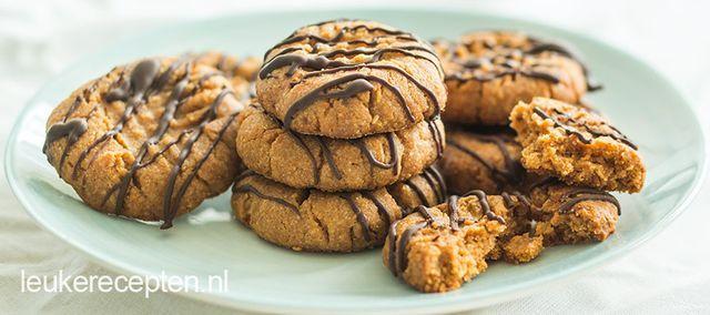 Het bericht Pindakaas koekjes met pure chocolade verscheen eerst op Leuke recepten.