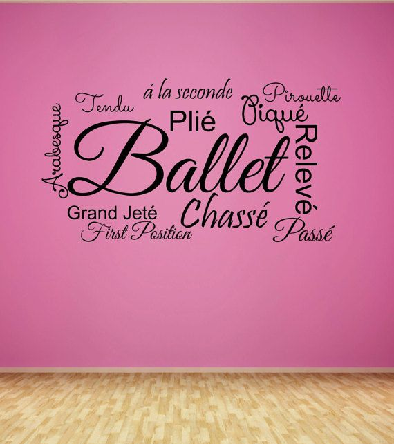 Best Dance Studio Decorations Ideas On Pinterest Dance - Custom vinyl wall decals dance