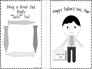 father day card inserts