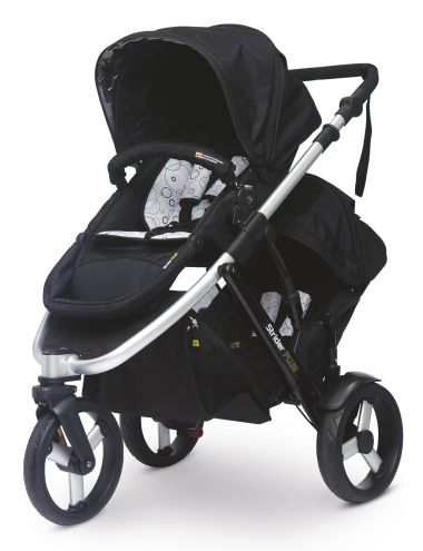 Strider Plus 3-Wheel Stroller with Second Seat product photo
