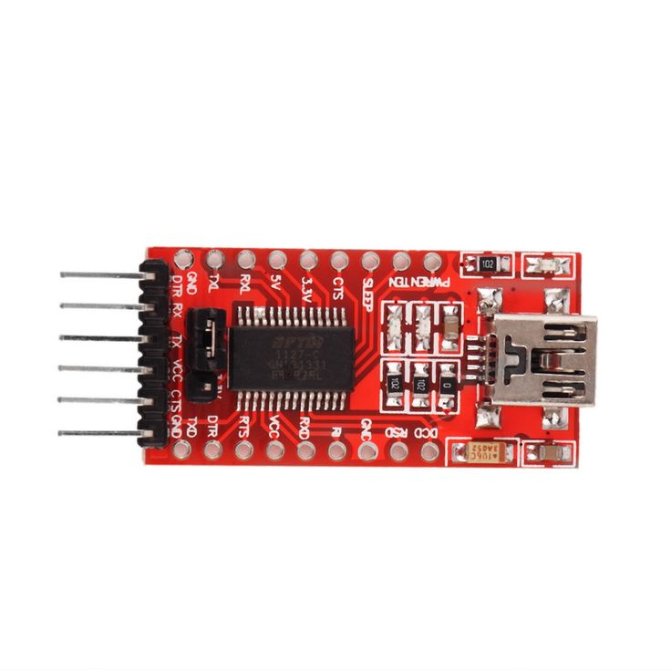 Free Shipping Newest1pc FTDI FT232RL USB to TTL Serial Converter Adapter Module 5V and 3.3V For Arduino Hot Worldwide     Free Shipping Newest1pc FTDI FT232RL USB to TTL Serial Converter Adapter Module 5V and 3.3V For Arduino Hot Worldwide  Features: The FT232R is a USB to serial UART interface  A low-cost way to add USB capability to For Arduino or other microcontrollers. Use this to give your own breadboard For Arduino USB capability for bootloading or downloading sketches.  ...    US…