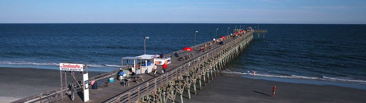 The 2nd Avenue Pier is located at the end of the Myrtle Beach Boardwalk, which is at the center of downtown. Great views, fabulous food, and unparalleled fishing, make this pier an essential stop for your vacation.