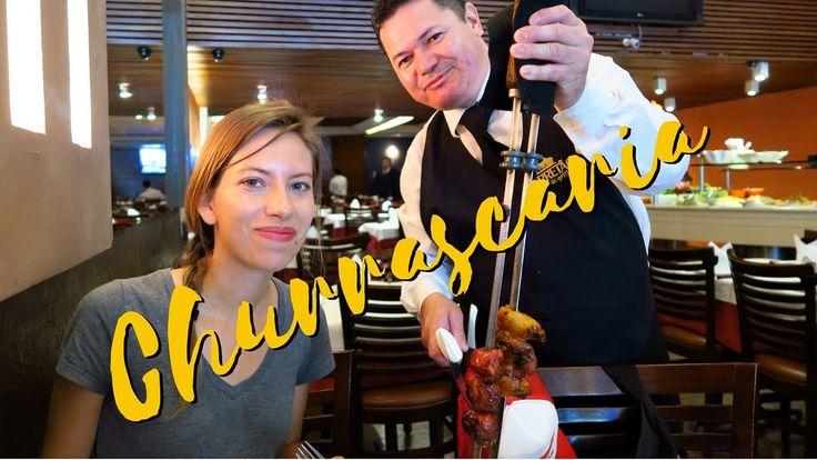Churrascaria: Churrasco style Brazilian meat buffet in Rio de Janeiro, B...