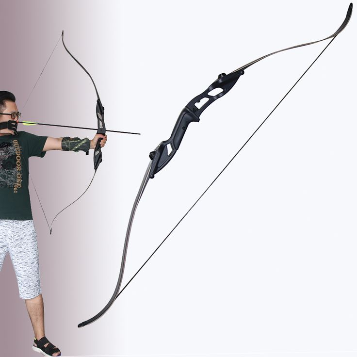 30 40 50lbs Aluminum Alloy & Wooden Take-down Bow Recurve Bow for Hunting Shooting Training Target Practice Games Take down Bow #Affiliate