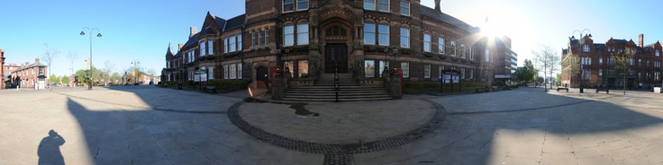 St Helens Town hall Viictoria square