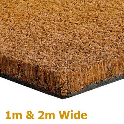 Rubber Flooring, Entrance Coir Matting Flooring Rolls, Entrance Coir Matting Flooring Rolls Natural 17mm A