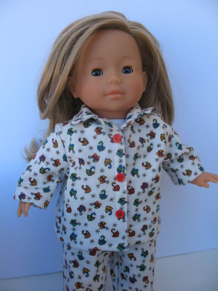 """Clothes for Mademoiselle Miss Corolle14""""Doll  Pajamas"""