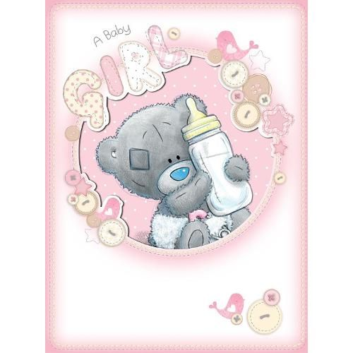 New Baby Girl Me to You Bear Large Card (A92LD004) : Me to You Online - The Tatty Teddy Superstore.
