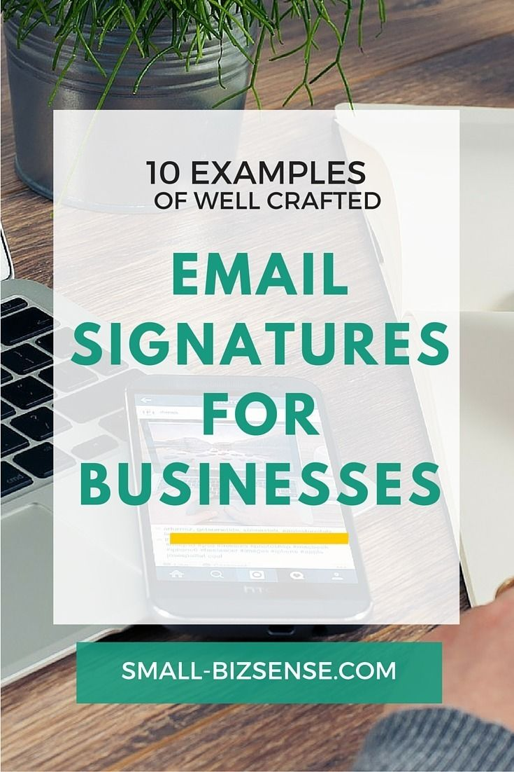 One of the most overlooked places to market your company is via your email signature. Here is a list of 10 of the best email signature examples for businesses that you can use for inspiration.