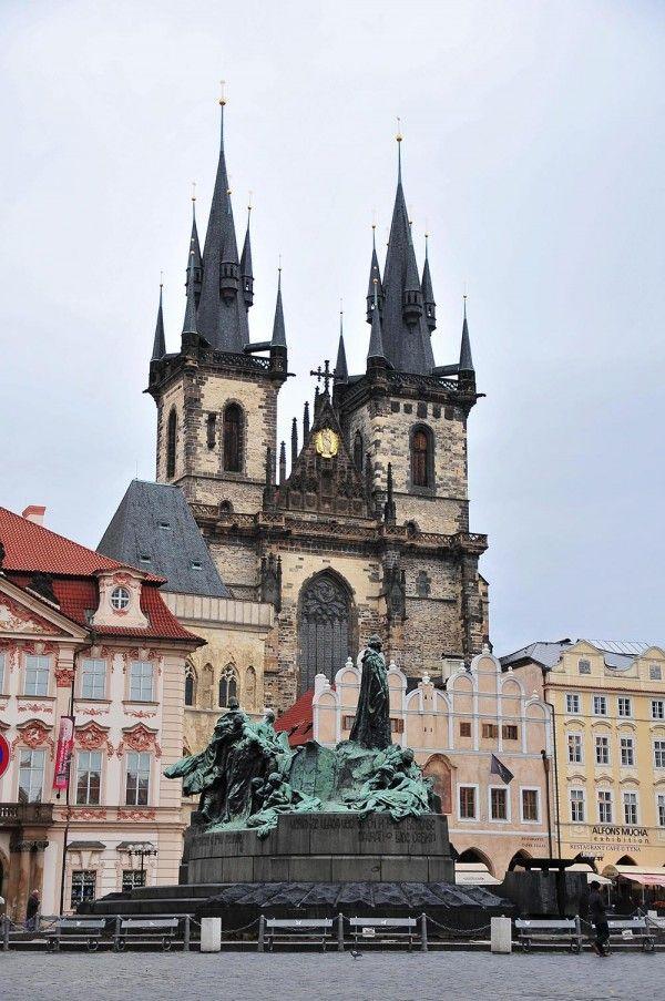 Le quartier de Staré Město à Prague