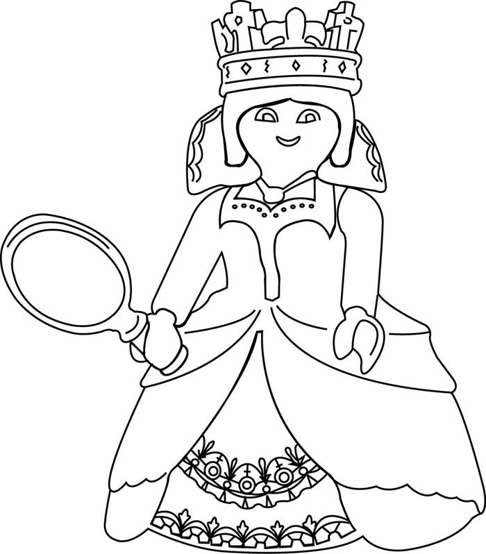 14 best coloriages playmobil images on pinterest coloring pages birthdays and colouring in - Dessin a colorier playmobil moto ...