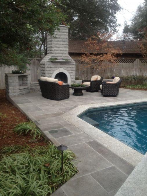 Die besten 25 pool coping ideen auf pinterest pool for Pond surround ideas