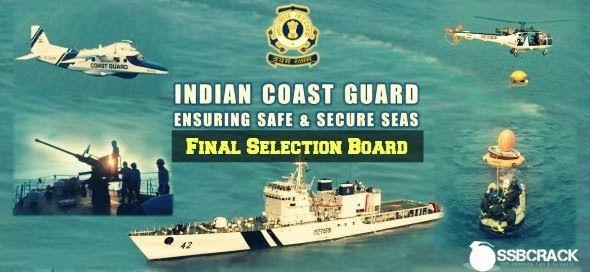 Indian Coast Guard Final Selection Board Procedure  by www.ssbcrack.com