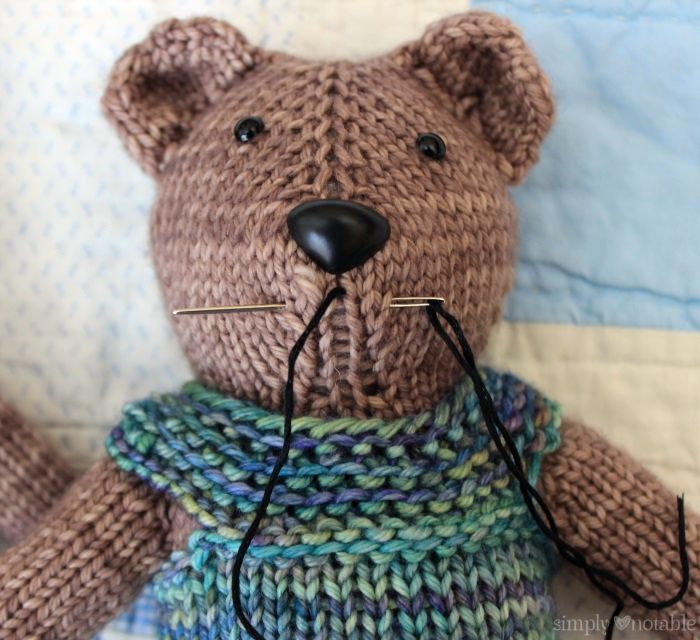 Finishing Your Magic Loop Teddy | SimplyNotable.com