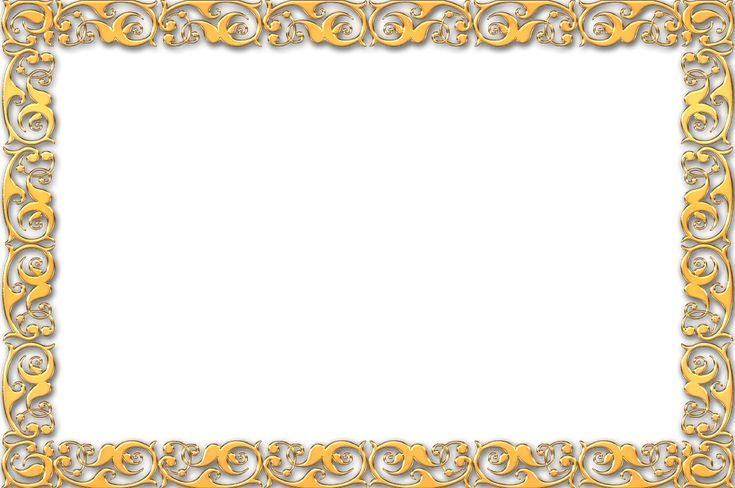 Simple Gold Frame Border Simple gold frame border | frame ...