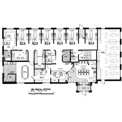 Dental Office Design Floor Plans | 2011 Dental Office Design Competition |  Wells Fargo Practice Finance