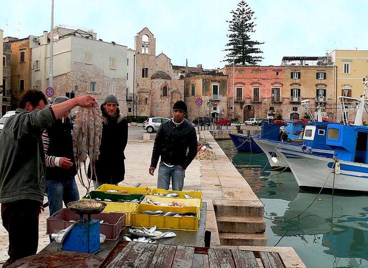 Trani Fish Market - Trani, Bari, Pugia Italy