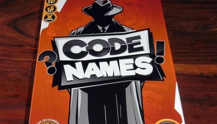 Des jeux pour le FLE: Code Names