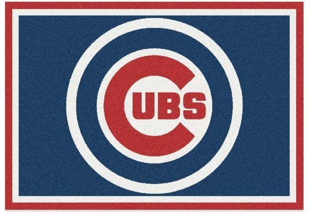 """Chicago Cubs Spirit Area Rug by Milliken 2'8"""" x 3'10"""" MLB Baseball Nylon New #Milliken #ChicagoCubs"""