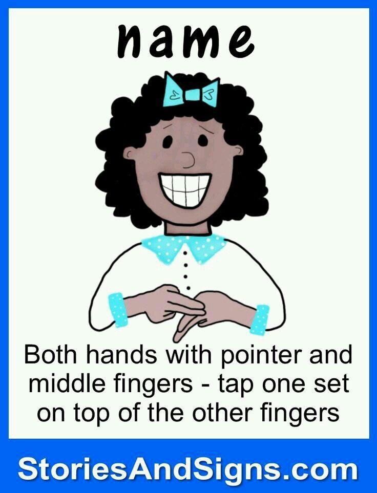 Name in sign language