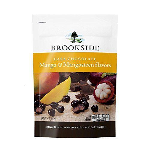 Brookside Dark Chocolate Mango and Mangosteen (2 Lbs.) - http://bestchocolateshop.com/brookside-dark-chocolate-mango-and-mangosteen-2-lbs/