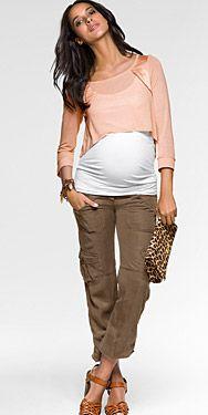#casual #embarazada #primavera