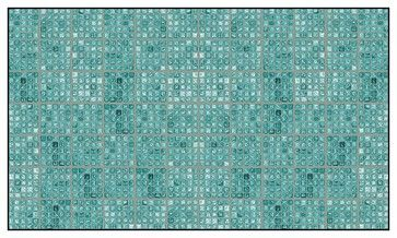 Faux Glass Tile Teal Gray Peel And Stick Wallcoverings