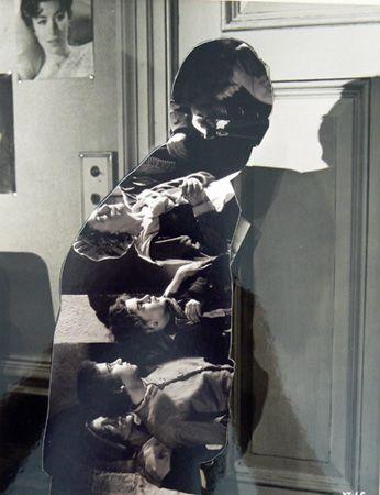 John Stezaker, Shadow IX (2006), Collage
