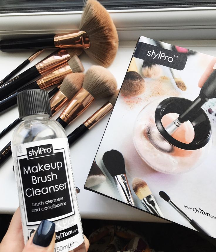 Review of the StylPro Make Up Brush Cleaner and Dryer - the product that cleans and dries your make up brushes within seconds.