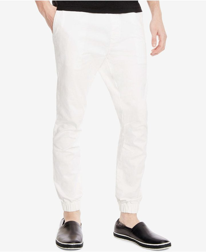 Kenneth Cole Reaction Men's Twill Jogger Pants
