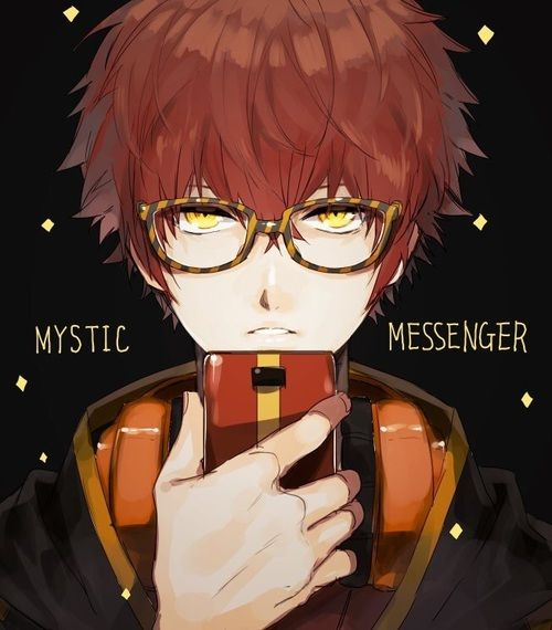 Immagine di mystic messenger and luciel choi